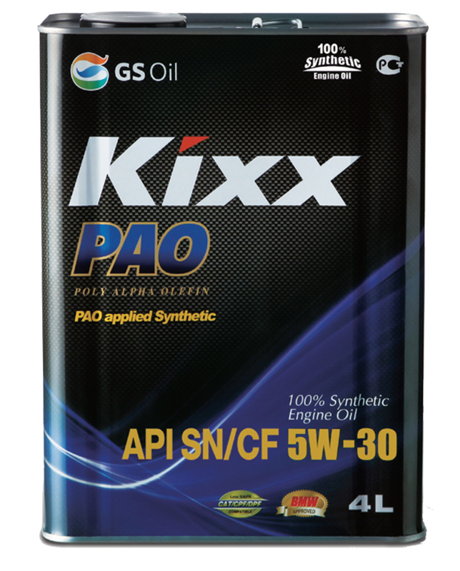 KIXX PAO API SN/CF 100% SYNTHETIC kixx00018
